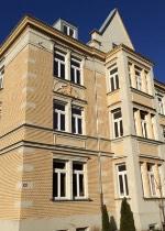 Die Villa in Augsburg