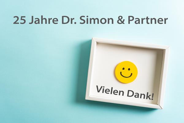 25 Jahre Dr. Simon & Partner